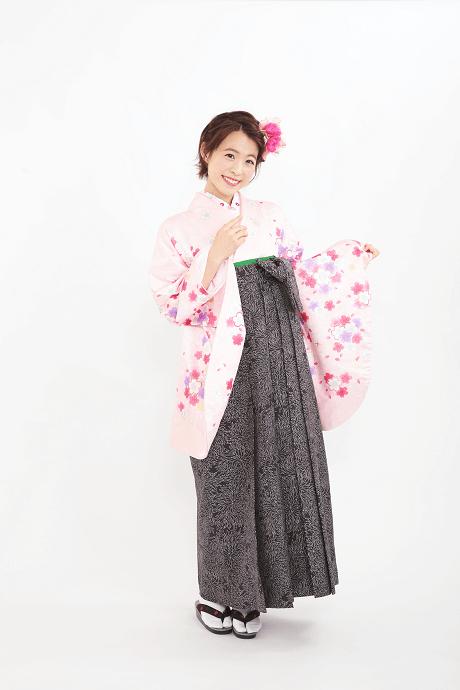 ピンクラメ小桜とJam総柄クロのサムネイル
