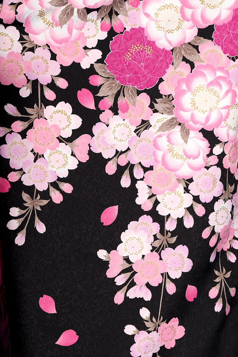 レンタル着物:ナカノ春黒の詳細