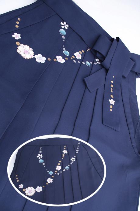 レンタル袴:コン友チェーン桜の色柄詳細
