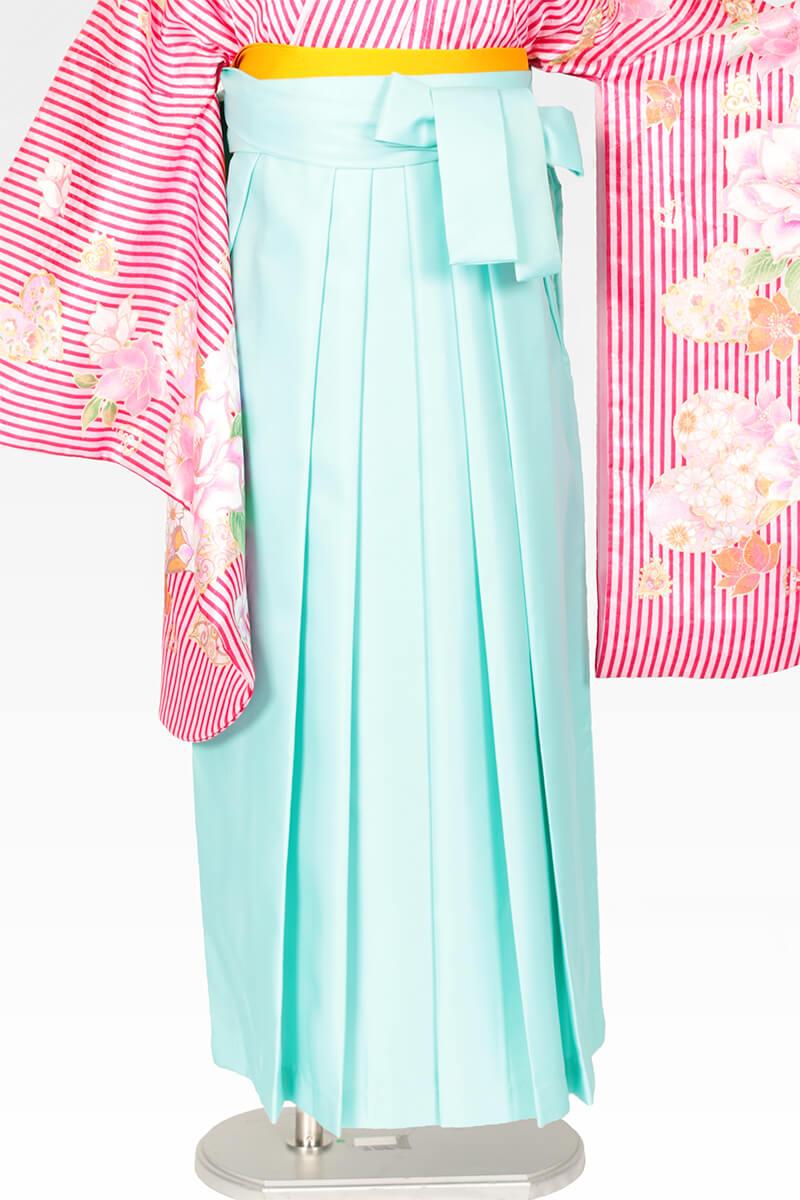 レンタル袴:エメラルドグリーン